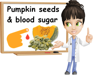Pumpkin seeds blood sugar