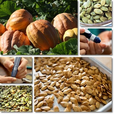 Pumpkin seeds good for diabetes