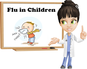 Flu in children