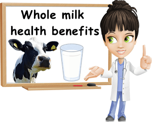 Whole milk health benefits