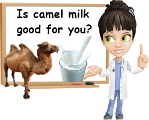 Camel milk good for you