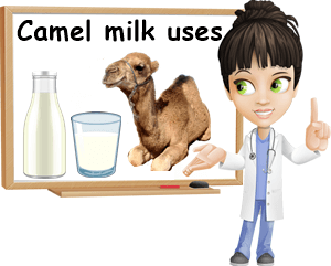 Camel milk uses