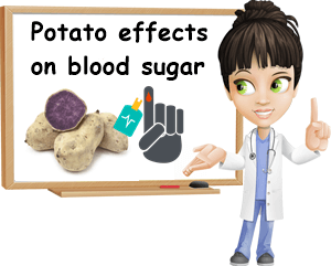 Lower potato blood sugar effects