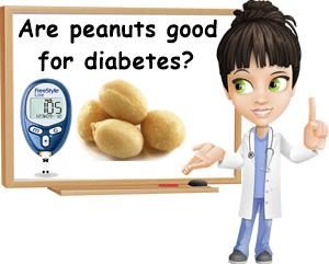 Peanuts good for diabetes