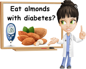 Eat almonds with diabetes