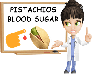 Pistachios blood sugar