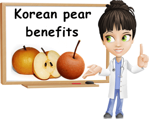 Korean pear nutrition facts and benefits