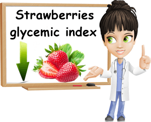 Strawberries glycemic index low