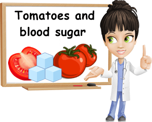 Tomatoes and blood sugar