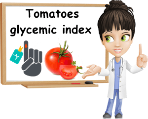 Tomatoes glycemic index