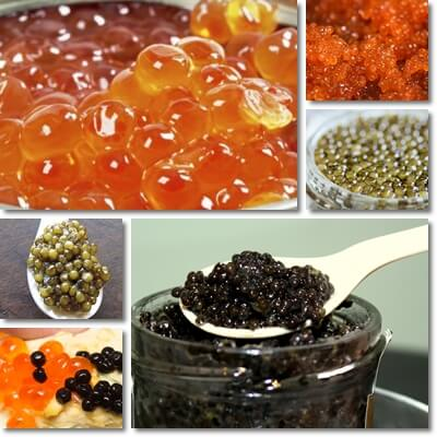 Difference between Red and Black Caviar