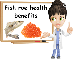 Fish roe benefits