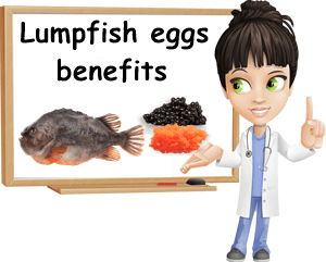 Lumpfish eggs benefits