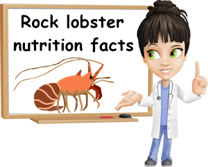 Rock lobster nutrition facts