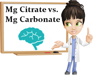 Magnesium citrate vs carbonate bioavailability