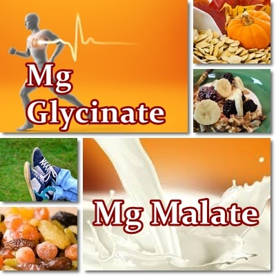 Magnesium glycinate versus malate absorption rate