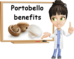 Portobello mushrooms benefits