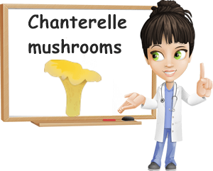 Chanterelle mushrooms benefits