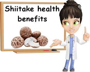 Shiitake health benefits