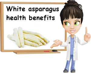 White asparagus health benefits