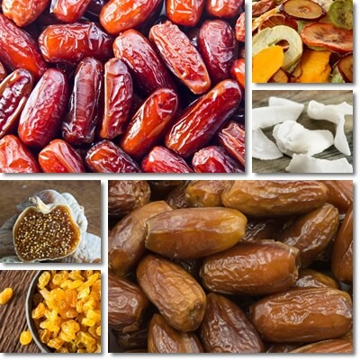 Make dried fruits healthy
