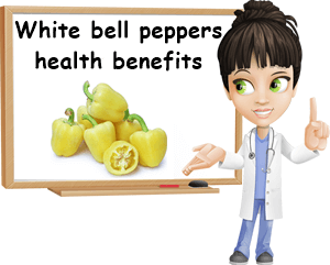 White bell peppers benefits