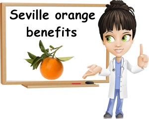 Bitter Seville orange benefits