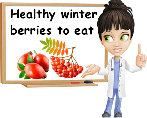 Healthy winter berries to eat