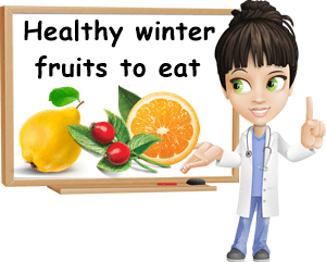 Healthy winter fruits to eat list