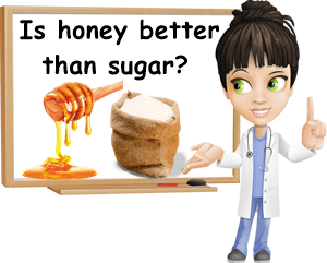 Is honey better than sugar