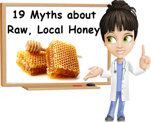 Raw local honey myths