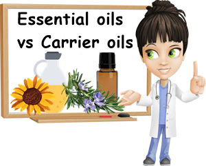 Carrier oil vs essential oil
