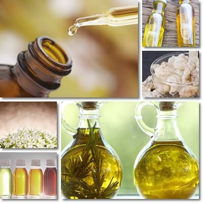 Essential oil and carrier oil
