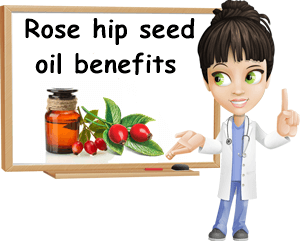 Rose hip seed oil benefits