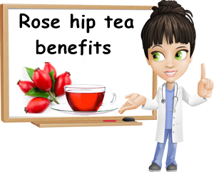 Rose hip tea benefits