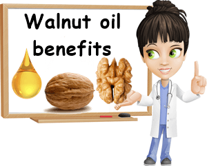 Walnut oil benefits