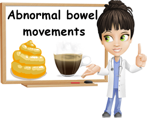 Abnormal bowel movements in adults