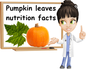 Pumpkin leaves nutrition facts