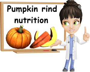Pumpkin rind nutrition facts