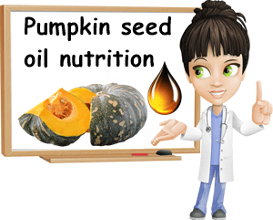 Pumpkin seed oil nutrition