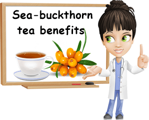 Sea-buckthorn tea benefits