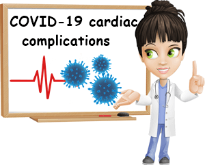 COVID-19 cardiac symptoms and complications