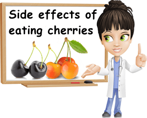 Cherries side effects