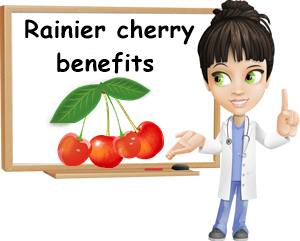 Rainier cherry health benefits