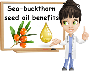 Sea-buckthorn seed oil benefits