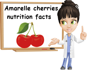 Amarelle cherries nutrition facts