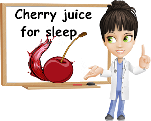 Cherry juice for sleep