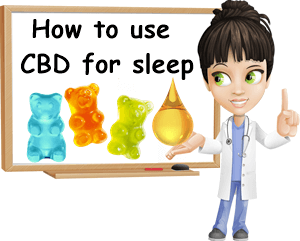 How to use CBD for sleep