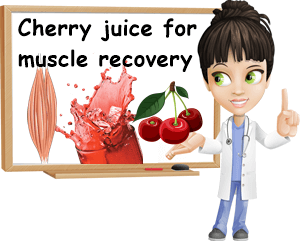 Cherry juice for muscle recovery