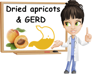 Dried apricots and GERD